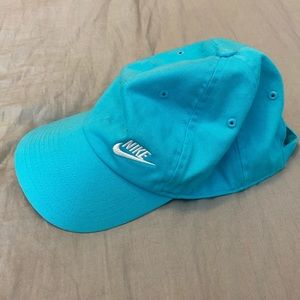 NIKE blue embroidered Hat
